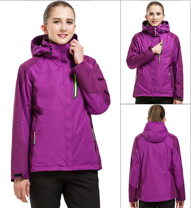 冲锋衣:面料柔软透气性佳内胆加厚 男女款均可定制LOGO图案  编号:HYTZ229