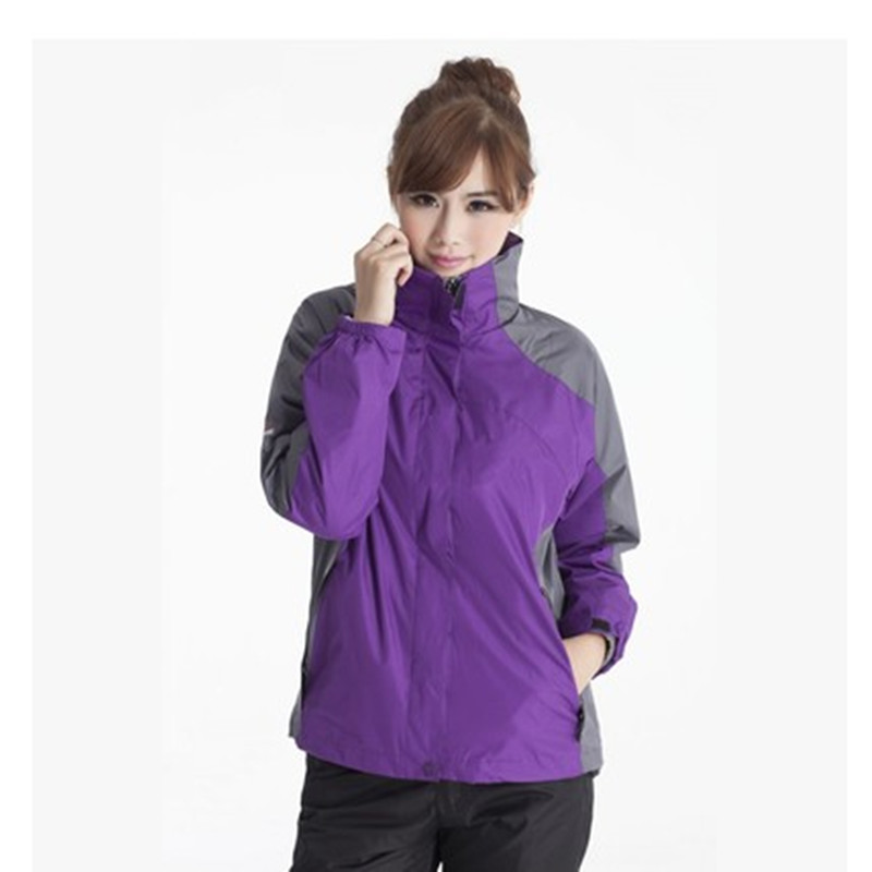 冲锋衣:面料柔软透气性佳内胆加厚 男女款均可定制LOGO图案  编号:HYTZ113