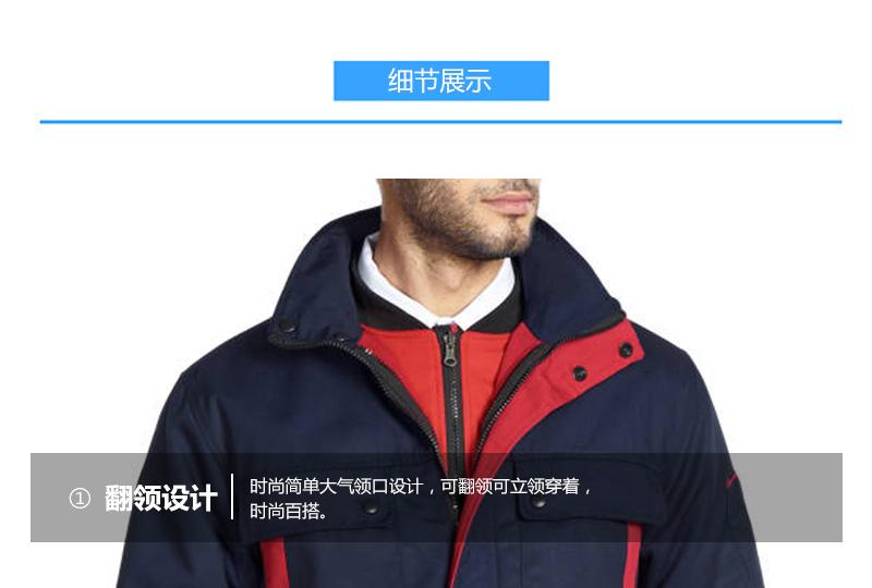 SDLB SD800/810#磨毛帆布一衣三穿夹克棉服